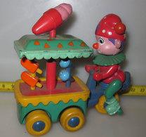 CARRETTO DEI GELATI VINTAGE RETROCARICA - Toy Memorabilia