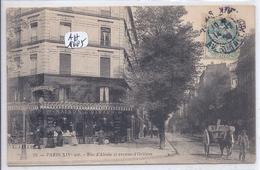 PARIS XIV- CHARCUTERIE GIRARD A L ANGLE DE LA RUE D ALESIA ET DE L AVENUE D ORLEANS- JALLET 28 - District 14