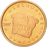 Slovénie, 2 Euro Cent, 2007, SPL, Copper Plated Steel, KM:69 - Slovenia