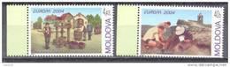 2004. Moldova, Europa 2004, 2v, Mint/** - Moldavie
