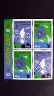 Aserbaidschan 679/80 DD **/mnh, EUROPA/CEPT 2007, Pfadfinder - Azerbeidzjan