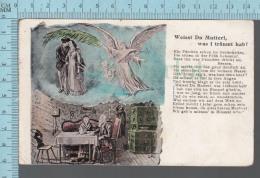 Weißt Du Mutterl Was I Träumt Hab -  Vintage Postcard - CPA - Allemagne