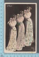 Montage Photo 3 Fois   - CPA, Bianca Toledo En Triple Exemplaire - Rutlinger #1442, Cir 1905 - Photographie