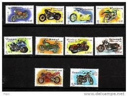 FRANCE-2002-N°3508/3517**               MOTOS - Nuevos