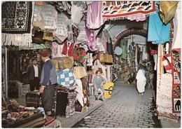 Tunis - Souk Des étoffes / Cloth Souk (market) / Stoffmarkt (Souk)  - (Tunisie) - Tunesië