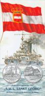 """Folder Österreich Auf Hoher See """"S.M.S Sankt Georg"""" 2005 SMS Panzerkreuzer St. New York Österreich Austria Autriche - Livres & Logiciels"""