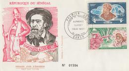Enveloppe  FDC  1er  Jour   SENEGAL   Alphonse  DAUDET    TARTARIN  DE  TARASCON   1972 - Sénégal (1960-...)