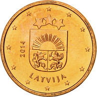 Latvia, Euro Cent, 2014, FDC, Copper Plated Steel, KM:150 - Lettonie