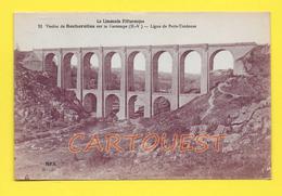 CPA Viaduc Rocherolles Sur Gartempe (87) - Chemin De Fer Paris Toulouse - Ouvrages D'Art