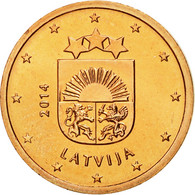 Latvia, 2 Euro Cent, 2014, FDC, Copper Plated Steel, KM:151 - Lettonie