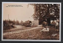 REPRODUCTION BURNONTIGE WERBOMONT  LIEGE TRAM COMBLAIN MANHAY - Ferrieres