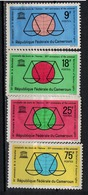 CAMEROUN       N°  YVERT       375/378    NEUF AVEC CHARNIERES        ( Char 04/A ) - Cameroon (1960-...)
