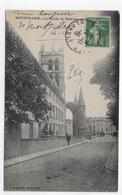 MONTPELLIER EN 1916 - LA FACULTE DE MEDECINE - BEAU CACHET - CPA  VOYAGEE - Montpellier