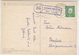 Landpost (20b) Helmscherode über Seesen 31.12.60 Nach Vorsfelde - Covers & Documents