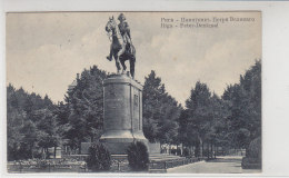 Riga - Peter-Denkmal - 1917 - Latvia