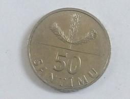 50 SANTIMU,1992 - Latvia