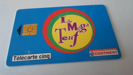 TELECARTES    CONTINENT LA MEGA TEUF  ******  RARE   A   SAISIR ****** - Phonecards
