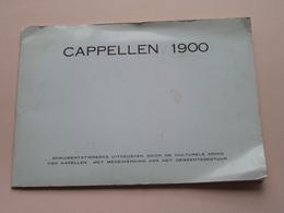 CAPPELLEN 1900 ( Dokumentatiereeks Uitgegeven Culturele Kring Van Kapellen > Anno 19?? ( Detail Zie Foto ) Reeks 1 ! - Kapellen