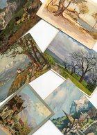 LOT De 13 Cartes Illustrées Diverses Illustrations - Cartes Postales