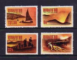 Tonga Niuafoou 1983 MNH Set - Shows Volcano Eruption - Tonga (1970-...)