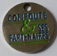 Jeton De Caddie - Autoroutes - COFIROUTE Et Ses Partenaires -  En Métal - - Einkaufswagen-Chips (EKW)