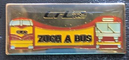"CFL "" Zuch An Bus Luxemburg "" Pin +++ Neu +++ - Trasporti"