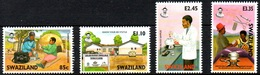 K38- Swaziland 2004 AIDS Awareness. - Unused Stamps