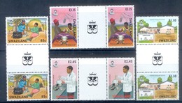 K43- Swaziland 2004 AIDS Awareness. - Unused Stamps