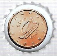 TAP396 - TAPPO CORONA - SERIE EURO VALFRUTTA - 5 C. EIRE - Altri