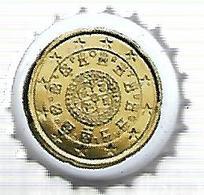 TAP399 - TAPPO CORONA - SERIE EURO VALFRUTTA - 20 C. PORTOGALLO - Capsule