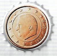TAP392 - TAPPO CORONA - SERIE EURO VALFRUTTA - 10 C. BELGIO - Altri