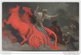 Die Heilige Schrift - Elias Fährt Im Feurigen Wagen Gen Himmel - Ascent Of Elijah Into Heaven - Künstlerkarte - Cristianesimo