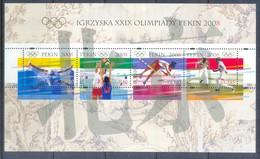 K58- Poland Polska 2008. Beijing Olympic. - Olympic Games