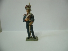 STARLUX SOLDATINO IN PLASTICA TOY SOLDIER PLASTIC TOYS VINTAGE ANNI 60 ALTO CM.7,5. - Miniature