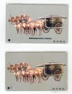 China,GSM(SIM) Card,used, Terracotta Warriors - Cina
