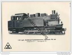 Arnold Jung Lokomotivfabrik Jungental - 1-D-1-Heissdampf-Tenderlokomotive - Treni