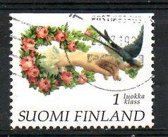 FINLANDE. N°1338 De 1997 Oblitéré. Hirondelle. - Swallows