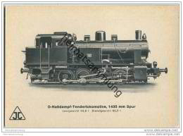 Arnold Jung Lokomotivfabrik Jungental - D-Nassdampf-Tenderlokomotive - Treni