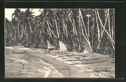 CPA Colombo, Fishing Canoes - Sri Lanka (Ceylon)