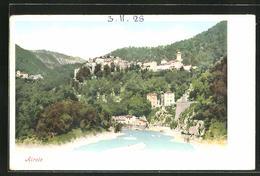 Cartolina Airole, Blick Zur Stadt - Italie