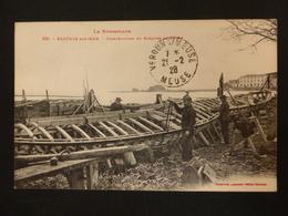 BANYULS SUR MER - LE ROUSSILLON - CONSTRUCTION DE BARQUES DE PECHE - 1928 - Banyuls Sur Mer