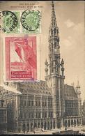 Bruxelles  Grand Place Hôtel De Ville   Vignette De L' Exposition - Bruxelles-ville