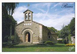 1 AK Frankreich * Kapelle Unserer Lieben Frau Königin Des Friedens (auch Foujita Kapelle) - Erbaut 1965-1966 In Reims - Reims