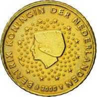 Pays-Bas, 50 Euro Cent, 2000, TTB, Laiton, KM:239 - Pays-Bas
