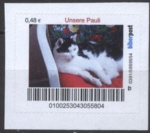 Biber Post Unsere Pauli (Katze) (48)  G408 - BRD