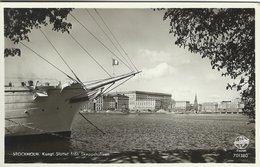 Stockholm Sweden.  Kung. Slottet Från Skeppsholmen. Sent To Denmark 1955. S-4286 - Schweden