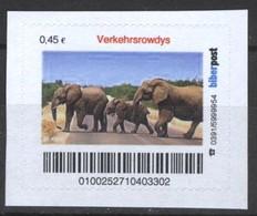 Biber Post Verkehrsrowdys (Elefant) (45)  G414 - BRD