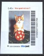 Biber Post Wer Spielt Mit Mir? (Katze) (45)  G415 - BRD