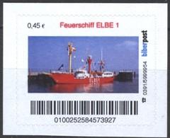 Biber Post Feuerschiff Elbe 1 (45)  G419 - BRD