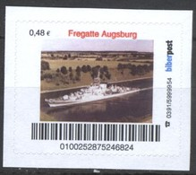 Biber Post Fregatte Augsburg (War Ship) (48)  G420 - BRD